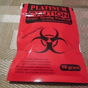 Platinum Caution Red 10 G